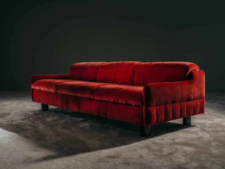 Available in the armchair or sofa version with 2 or 3 seats.? I LOVE YOU Sofa is composed of a wooden frame upholstered with high-density polyurethane foam of different densities.? I LOVE YOU sofa is available completely covered in fabric or