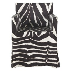 I Love You Armchair in Fabric and Wood by Roberto Cavalli Home Interiors