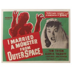 I Married A Monster From Outer Space (1960r) Poster