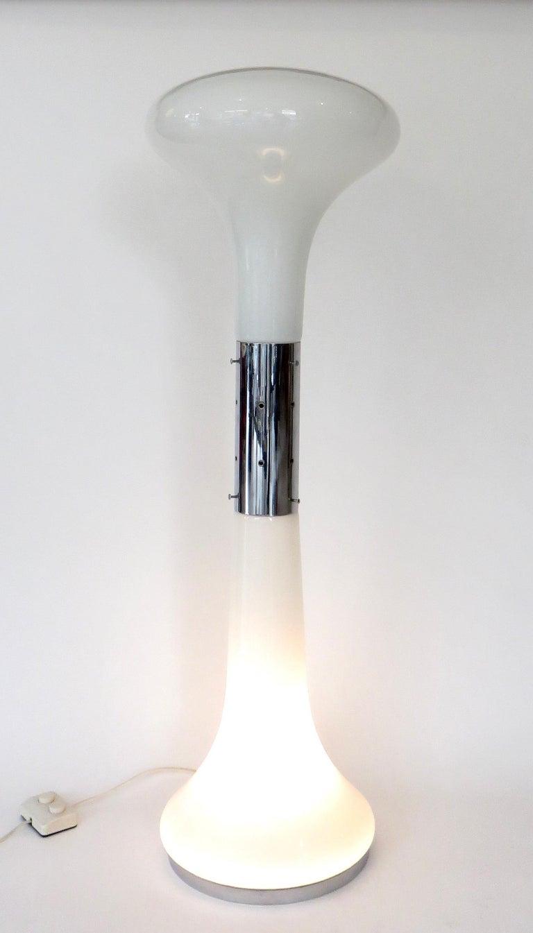 I Numerati Soffiato Sculptural Floor Lamp by Carlo Nason Mazzega Murano Italy In Excellent Condition For Sale In Chicago, IL