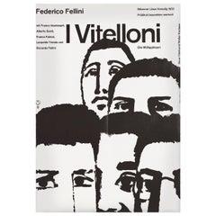 """""""I Vitelloni"""" 1962 German A2 Film Poster"""