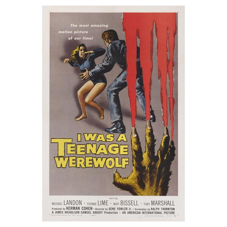 I was a Teenage Werewolf For Sale