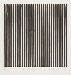 Untitled -- Print, Etching, Black and White Lines, Abstract Art by Ian Davenport