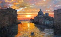 Original Venice  landscape painting
