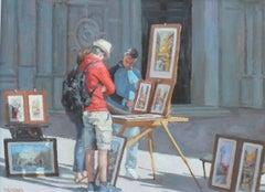 Venetian Artist original landscape painting