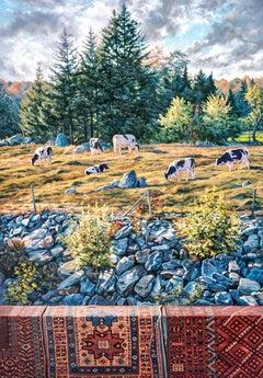 """""""(Untitled) Connecticut Landscape,"""" Photorealism"""