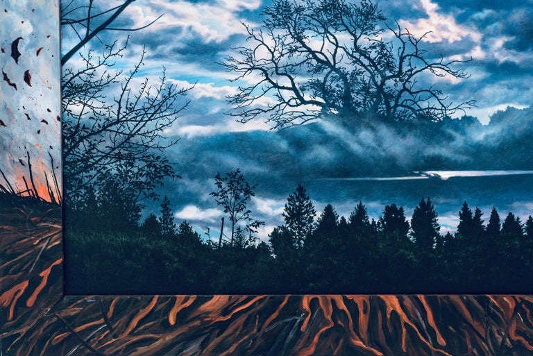 Last Song: Beim Schlafengehen (Going to Sleep), Photorealism & Hyperrealism - Painting by Ian Hornak