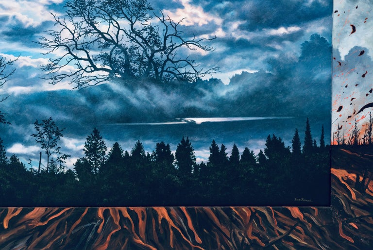 Last Song: Beim Schlafengehen (Going to Sleep), Photorealism & Hyperrealism - Photorealist Painting by Ian Hornak