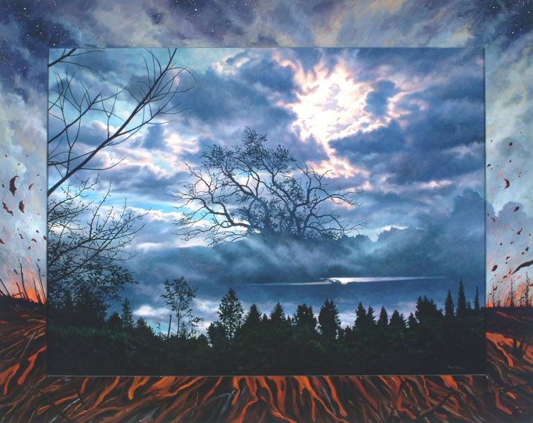 Ian Hornak Abstract Painting - Last Song: Beim Schlafengehen (Going to Sleep)