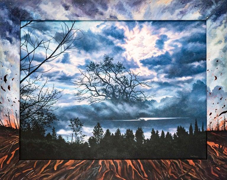 Ian Hornak Abstract Painting - Last Song: Beim Schlafengehen (Going to Sleep), Photorealism & Hyperrealism
