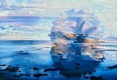 """""""The Banyan Tree: Var. #6,"""" Photorealism, circle of Malcolm Morley, Chuck Close"""