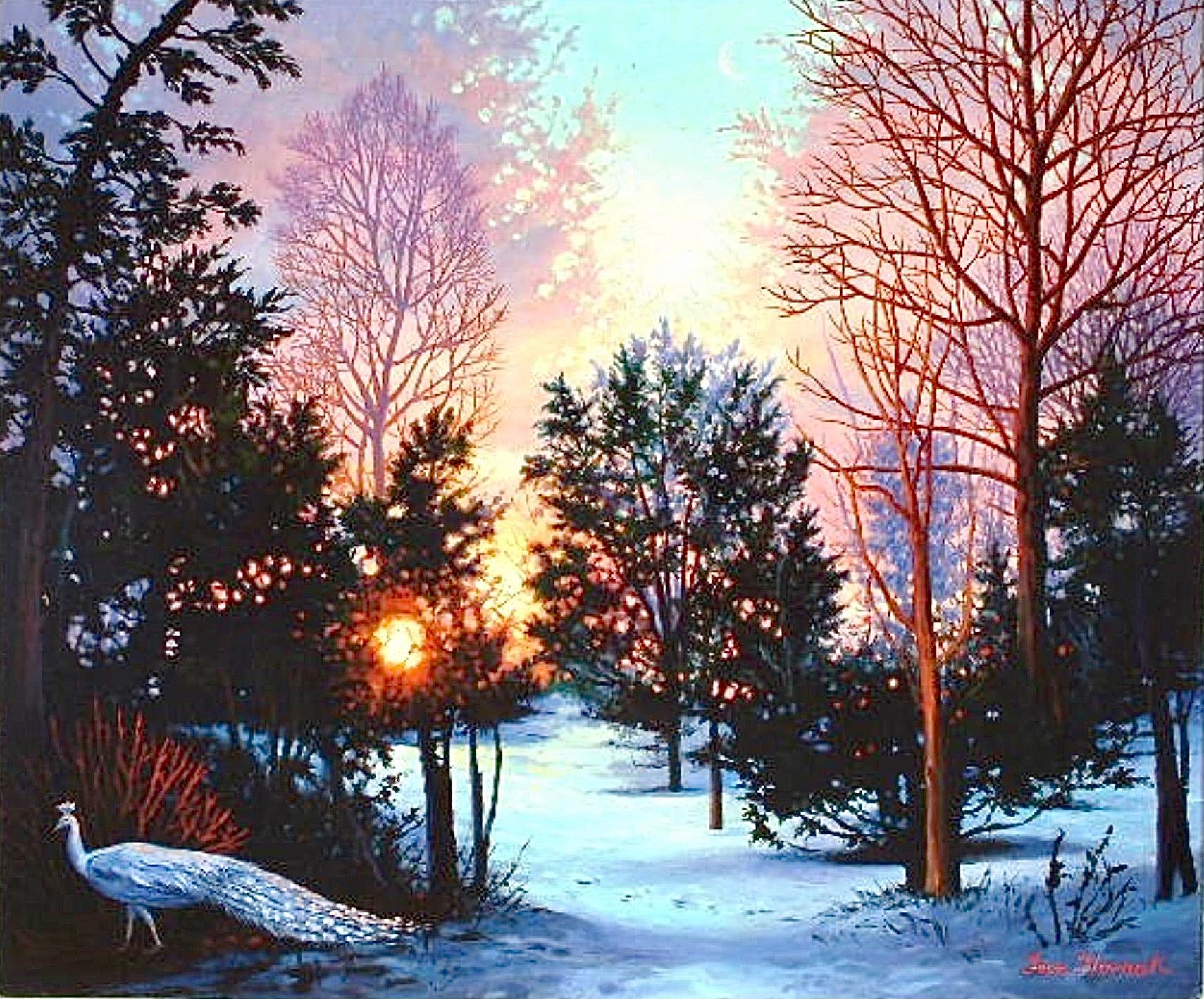 Transparent Barricades, Variation V, Winter Light