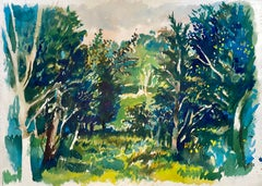 Untitled (Abstract Spring Landscape)
