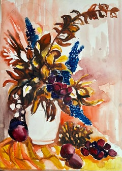 Untitled (Abstract Still Life with Flowers and Fruit)