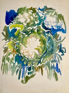 Untitled (Abstract Still Life with Flowers)