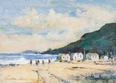 'Beachcombers' by contemporary British artist Ian Houston