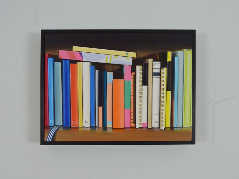 Cook Books: Colourful Painting by Ian Robinson For Sale 1