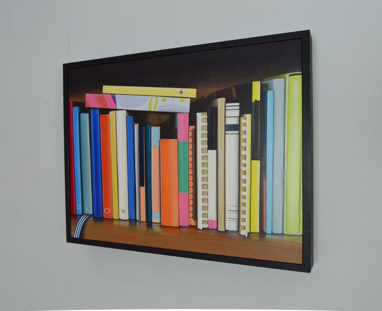 Cook Books: Colourful Painting by Ian Robinson For Sale 3