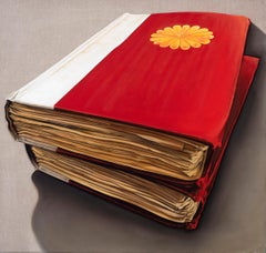 Kaempfer's Japanese Manuscripts: Photorealistic Painting by Ian Robinson