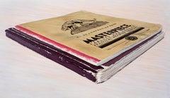 Roald Dahl Ideas Books: Photorealistic Oil Painting by Ian Robinson