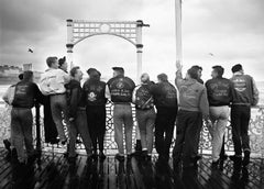 Boys -Signed limited edition pigment print,Black and  White Photography,UK,1984