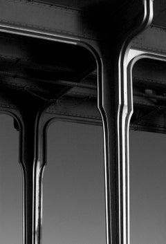 Bridge - Signed limited edition fine art print,Black and white photography,Paris