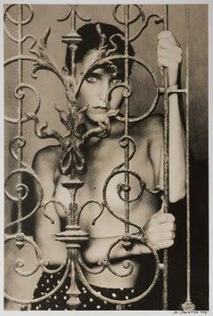 Caroline 2- Signed limited edition silver gelatin lith print, 21st Century, Nude