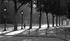 Elysées - Signed limited edition fine art print, Black and white,Analog, Paris