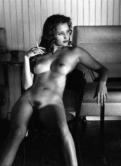 Estelle- Signed limited edition fine art print,Black and white photo, Analog