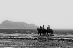 Horses - Signed limited edition fine art print, Black and white photography