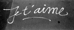 Je t'aime - Signed limited edition fine art print, Black and white photography