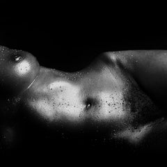 Jo-Signed limited edition fine art print,Black and white photography,Nude,Square