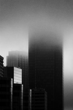 La Défense 1 - Signed limited edition pigment print,Black and White Photography