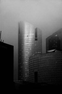 La Défense 2 - Signed limited edition pigment print,Black and White Photography