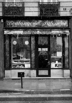 Le Marais-Signed limited edition fine ar print,Black and white photography,Paris