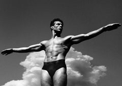 Mathew-Signed limited edition fine art print,Black white photography,Homoerotic