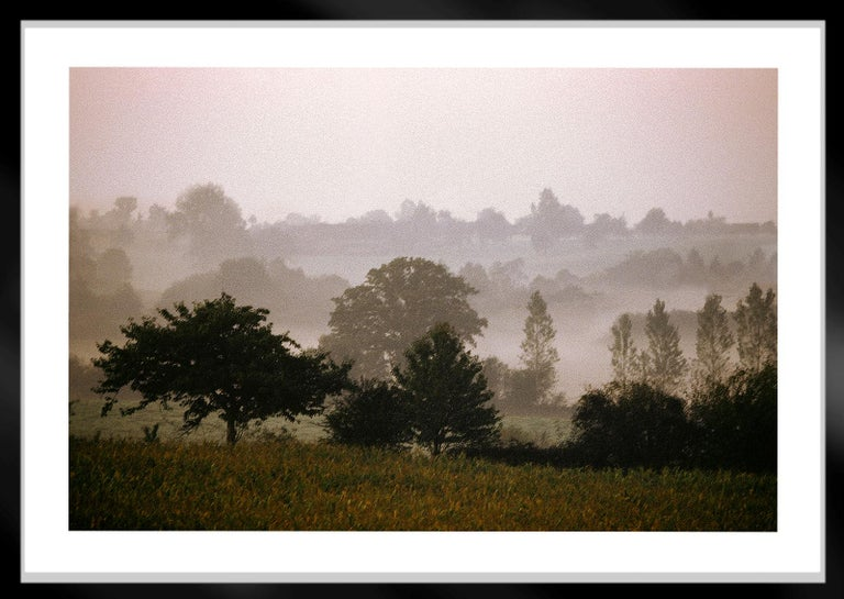 Mayenne -Signed limited edition fine art print, Color photo,Analog, France - Beige Color Photograph by Ian Sanderson