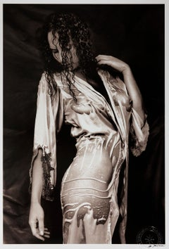 Nathalie 2-Signed limited edition silver gelatin lith print, 21st Century,Analog
