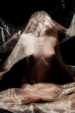 Organza dream -Signed limited edition fine art print, Color photography, Sensual
