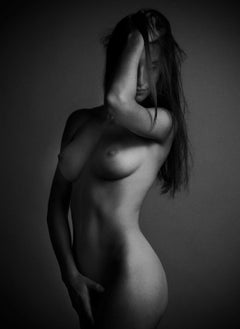 Sophie -Signed limited edition fine art print,Black and white photography,Nude