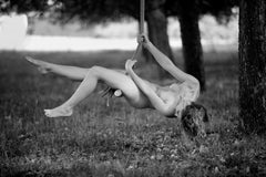 Swing -Signed limited edition fine art print,Black and white photography,Sensual