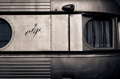 Train -Signed limited edition fine art print, Color photography, Black and white