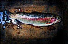Trout - Signed limited edition pigment print,Color Photography,21st Century
