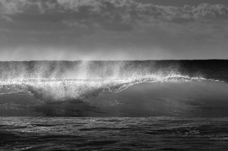 Wave 2 - Signed limited edition fine art print, Black and white photography, Sea For Sale 2