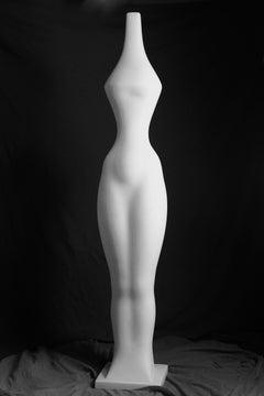 Earth - British Sculptor, Abstract, Marble, Italian Carrara, Philosophy, Figure