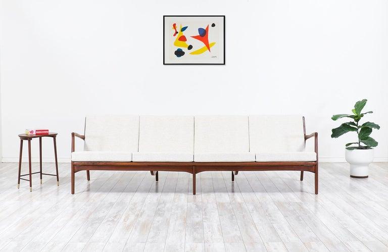 Ib Kofod-Larsen 4-seat sofa for Selig.