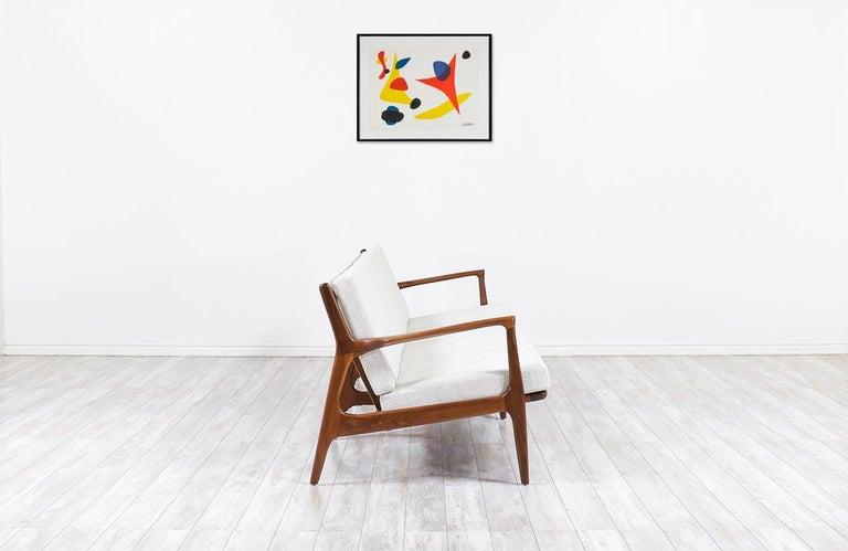 Danish Ib Kofod-Larsen 4-Seat Sofa for Selig For Sale