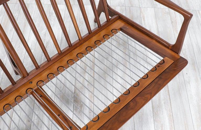 Foam Ib Kofod-Larsen 4-Seat Sofa for Selig For Sale