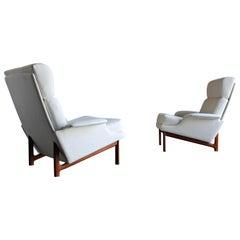"Ib Kofod-Larsen ""Adam"" Lounge Chairs for Mogens Kold Møbelfabrik, circa 1960"
