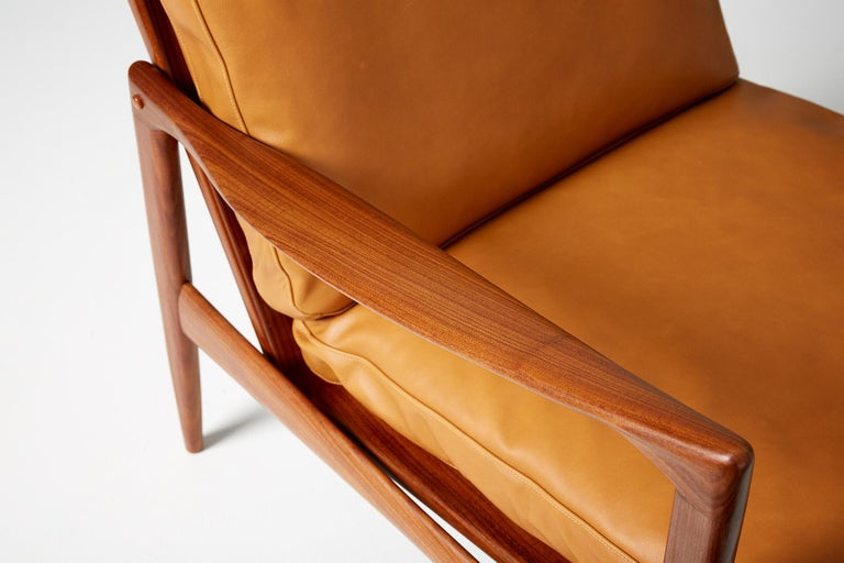 Ib Kofod-Larsen Afromosia Teak Candidate Lounge Chairs, circa 1960 For Sale 4